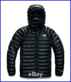 NWT The North Face men's Summit Series L3 800 fill down hoodie jacket, XL, Black