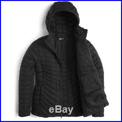 NWT Women's North Face Thermoball Hoodie Jacket, TNF Black
