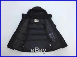 NWT the North Face Isolation mens Detachable Hoody Goose Down Jacket black