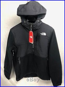 New The North Face Denali 2 Jacket Hoody Black Insulated Mens S-xxl Free Ship
