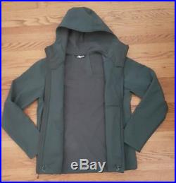 New The North Face Mens Apex Bionic Hoodie Jacket Spruce Green size Medium nwt
