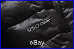 New The North Face Mens TNF950 Down Jacket Hoody Black Size XL