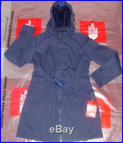 New The North Face Womens Apex Sashanna SoftShell Hoodie Jacket Medium $230 Blue
