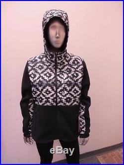 New Women's North Face Denali 2 Hoodie A2te3mpl Bd-ktpt/black