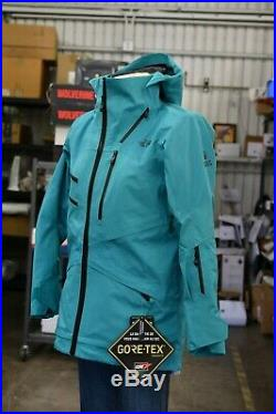 North Face Fuse Brigandine Steep Hooded Jacket Size Lady Medium GoreTex