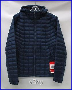 North Face Mens Thermoball Hoodie Jacket C761 Shady Blue Size Small