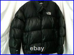 North Face Nuptse Down Jacket, Mens 3XL, thick, hoody, 700, well used see pics