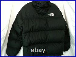 North Face Nuptse Down Jacket, Mens XL, thick, hoody, 700, rare made in China