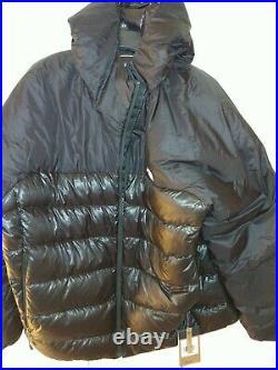 North Face Sierra Peak 800-Down Insulated Hoodie Puffer Jacket Black XXL NWT 2XL