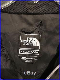North Face Steep Tech Vintage 1/2 Zip Pullover Hoodie Jacket Medium