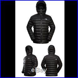 North Face Summit Mens Supernatural TNF950 Down Jacket Hoody Black Size SMALL