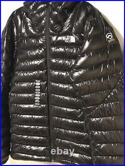 North Face Summit Series L3 800 Goose Down Hoodie Jacket Men Large Black NWT
