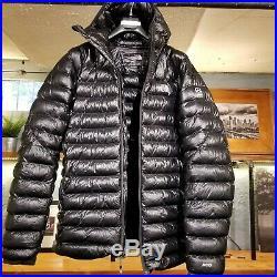 North Face Summit Series L3 800 Goose Down Hoodie Jacket Men Large Black zzo