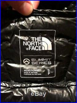 North Face Summit Series L3 Down Hoodie Black Small New
