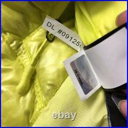 North Face Summit Series Womens Verto Micro Hoodie Down Jacket Sulphur Size S