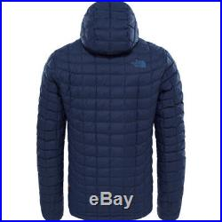 North Face Thermoball Hoodie Mens Jacket Synthetic Fill Urban Navy Matte