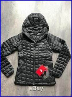 North Face Women's Thermoball Hoodie TNF Black Size Xs