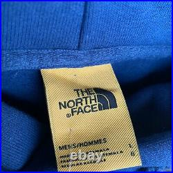 North Face x Brain Dead Pullover Hoodie Blue NF0A3YCVHDC Men's Size Large NWT