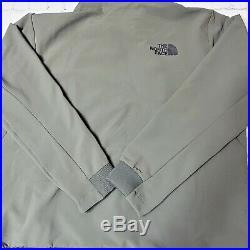 North face techwear tekno zip utility hoodie taupe green brand new Sz XXL