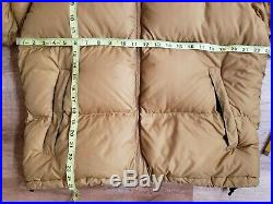Rare Vintage The North Face Nuptse Jacket Size Large Lightweight Down 700 Hooded