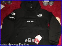 Supreme 2016 S/s Box Logo North Face Steep Tech Hooded Sweatshirt S-xl Hoodie Bk