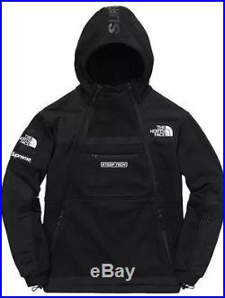 Supreme North Face Steep Tech Sweatshirt Black Medium Box Logo Nmd Yeezy Og Bin