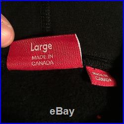 Supreme Tonal Arc Hooded Sweatshirt (black) (l) Ss16 North Face Steep Tech