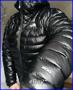 Stunning Shiny Mens The North Face L3 Down Hoodie Jacket XL Puffer