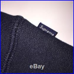 Supreme Ali Warhol Hooded Sweatshirt NAVY BLUE (LARGE) SS16 North Face Motion