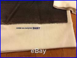 Supreme Box Logo Comme Des Garcons hoodie XL Blue Damien Morrissey North Face