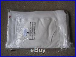Supreme Crest Hoody White Men's Large DS BNWT Box Logo BOGO North Face Rare