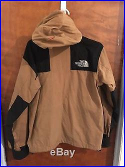 Supreme North Face Jacket Wax Cotton Mountain Jacket Hoodie