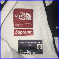 Supreme North Face Steep Tech Hoodie White Season16-PreOwned