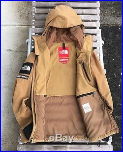 19c76924db1 Supreme North Face Waxed Cotton Mountain Jacket Corduroy Shell Box ...