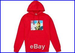 Supreme The North Face Photo Hooded Sweatshirt Red
