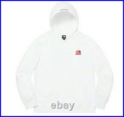Supreme The North Face Statue of Liberty Hooded Sweatshirt Size Large White FW19