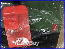 Supreme The North Face Steep Tech Green Sweatshirt sz L box logo hoodie s Nuptse
