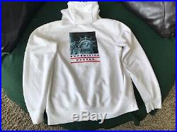 Supreme X The North Face Statue Of Liberty Hoodie White Size Medium