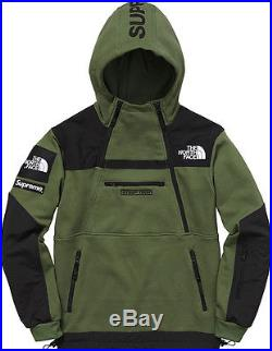8b1deb081 Supreme X The North Face Steep Tech Hooded Sweatshirt Olive Medium ...
