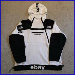 Supreme X The North Face Steep Tech Hooded Sweatshirt White SS16 Large