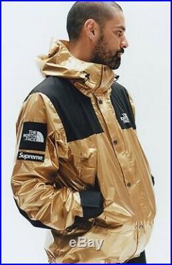 Supreme x TNF (The North Face) Golden Metallic (Ski) Jacket