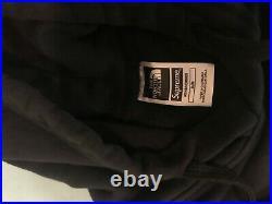 Supreme x The North Face Metallic Box Logo Hoodie Sweatshirt Medium