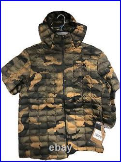 THE NORTH FACE Camo THERMOBALL-ECO HOODIE MEN SIZE L AUTHENTIC WITH TAGS