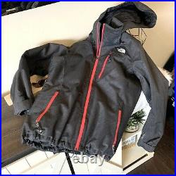 THE NORTH FACE Cryptic Size M Womens RECCO Ski Board Jacket Coat Gray