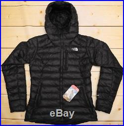 eca9d9a45 THE NORTH FACE MORPH HOODIE 800 DOWN insulated WOMEN'S BLACK PUFFER ...