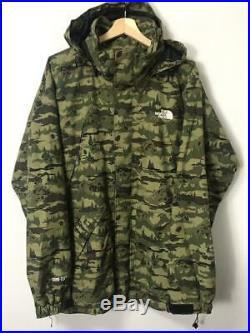 THE NORTH FACE Maharishi Medicom Toy Macalu Jacket XXL size Gore tex Camo Hoodie