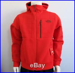 THE NORTH FACE Men's Spacer Hoodie Fleece Jacket Paprika Red sz S L XL