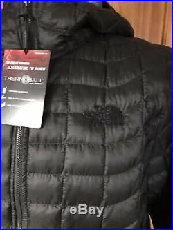 THE NORTH FACE -Mens Thermoball Hoodie Insulation Jacket -Black -Size XL -BNWT