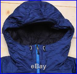 THE NORTH FACE PRISM OPTIMUS HOODIE 700 DOWN warm MEN'S BLUE PUFFER JACKET L