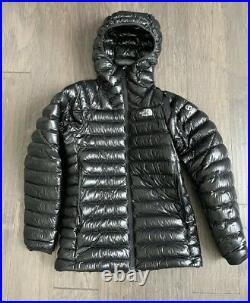 THE NORTH FACE SUMMITT SERIES Summit L3 Down Hoodie 800pro Jacket Size L Black